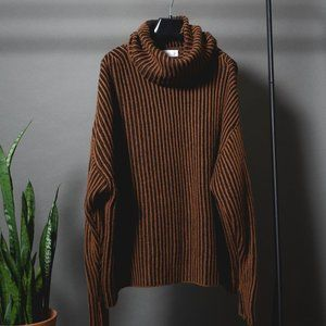 ZARA Cowl Neck Sweater
